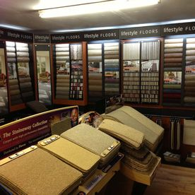 our showroom carpets